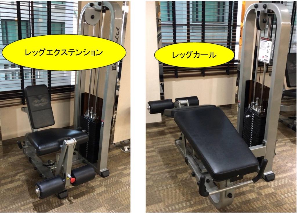 膝関節を安定させるトレーニングマシン