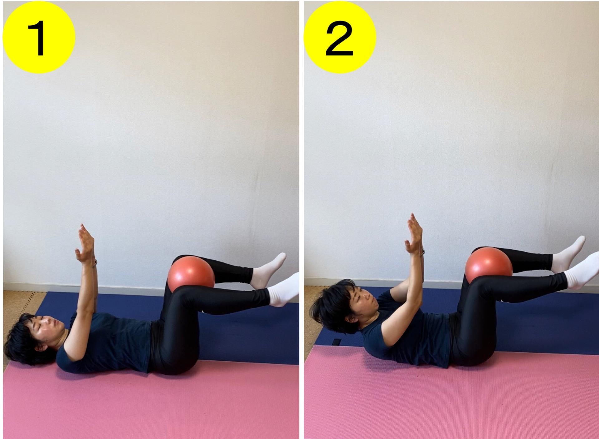 基礎的な腹筋運動