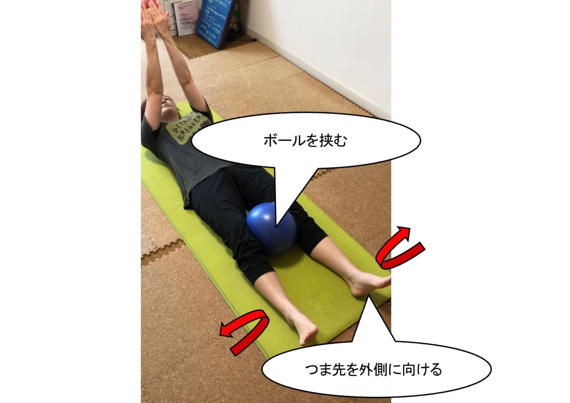 骨盤底筋を意識した運動