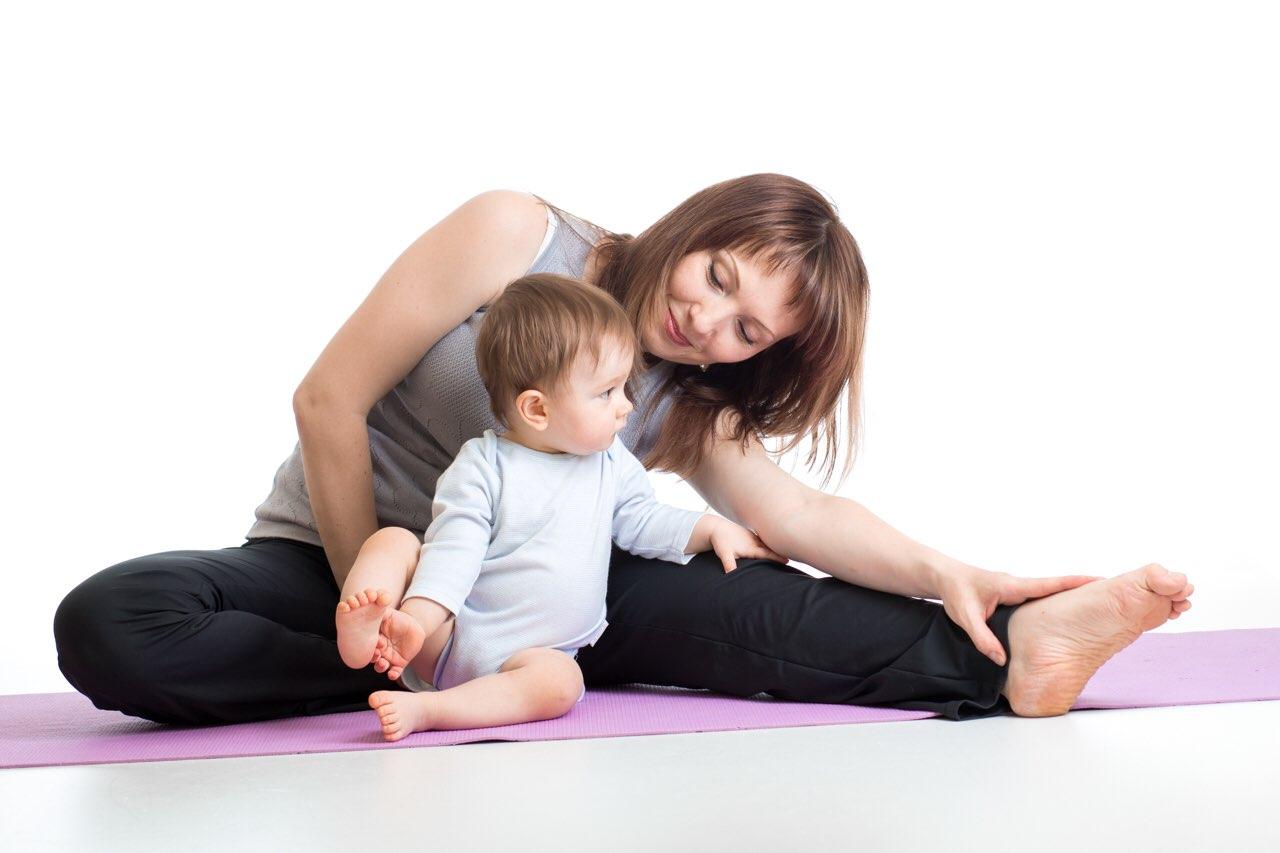 子供連れトレーニング