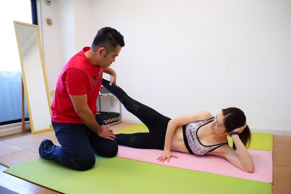 中殿筋の基礎的なトレーニング